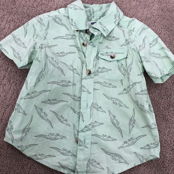 0f76f20b64 Old Navy Shirts & Tops | Crocodile Button Up 2t | Poshmark